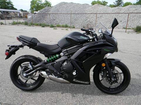 2015 Kawasaki Ninja® 650 in Springfield, Massachusetts