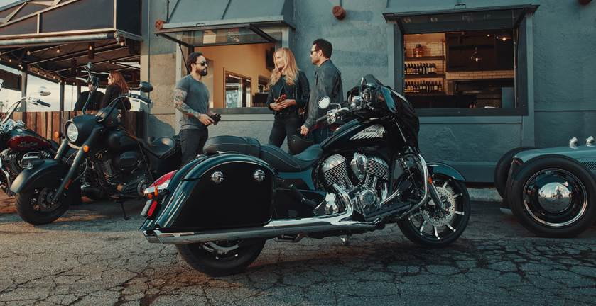 2017 Indian Chieftain Limited in Lowell, North Carolina