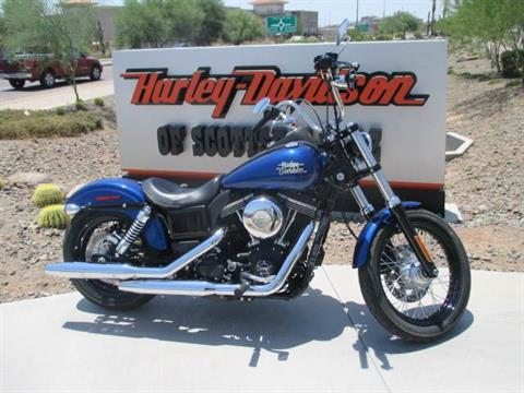 2015 Harley-Davidson Street Bob® in Scottsdale, Arizona