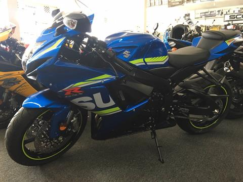 2017 Suzuki GSX-R600 in Van Nuys, California
