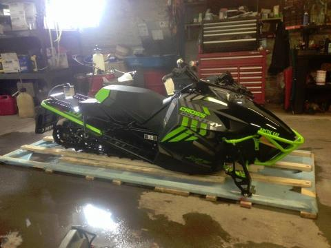 2017 Arctic Cat XF 6000 137 CROSS CTRY ES in Hancock, Michigan
