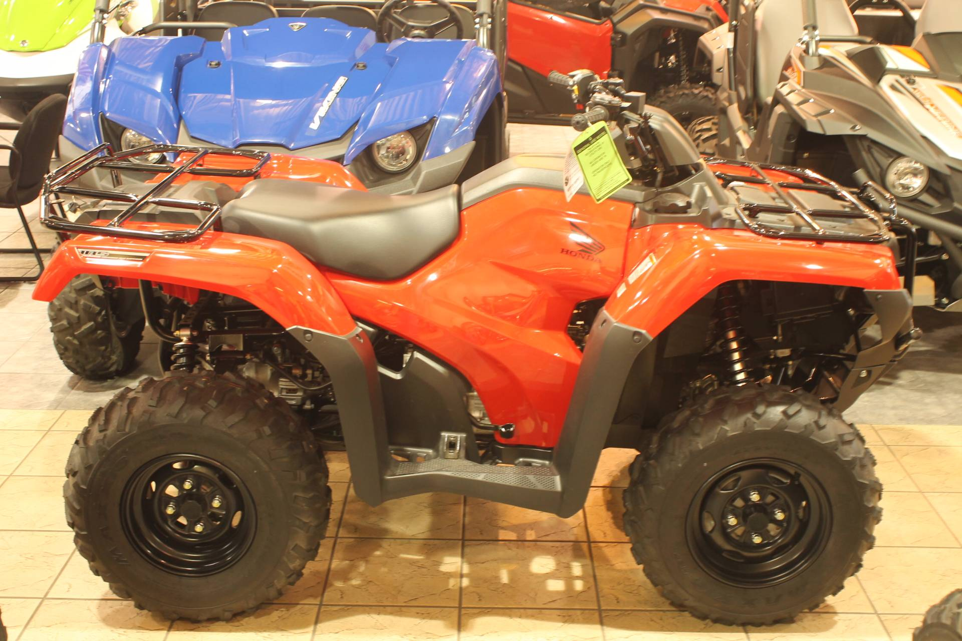 2016 Honda FourTrax Rancher 4X4 Automatic DCT IRS EPS in Allen, Texas