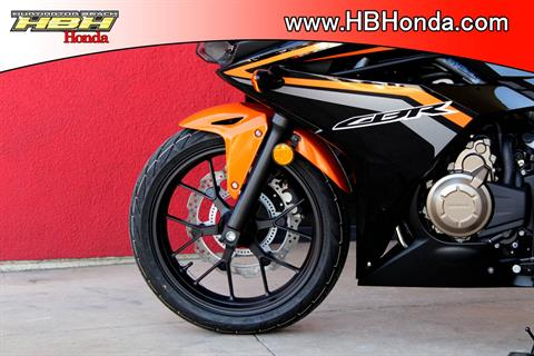 2017 Honda CBR500R ABS in Huntington Beach, California
