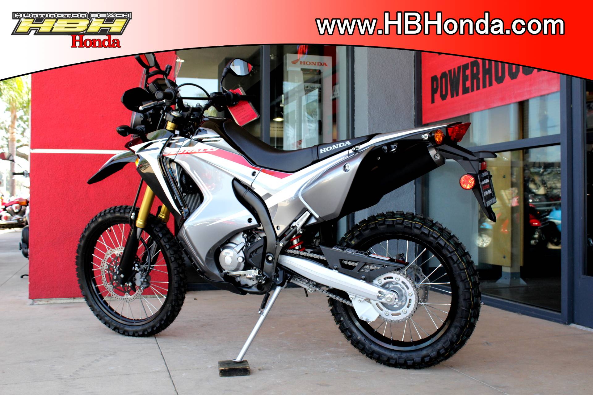 New 2018 Honda Crf250l Rally Motorcycles For Sale In Huntington