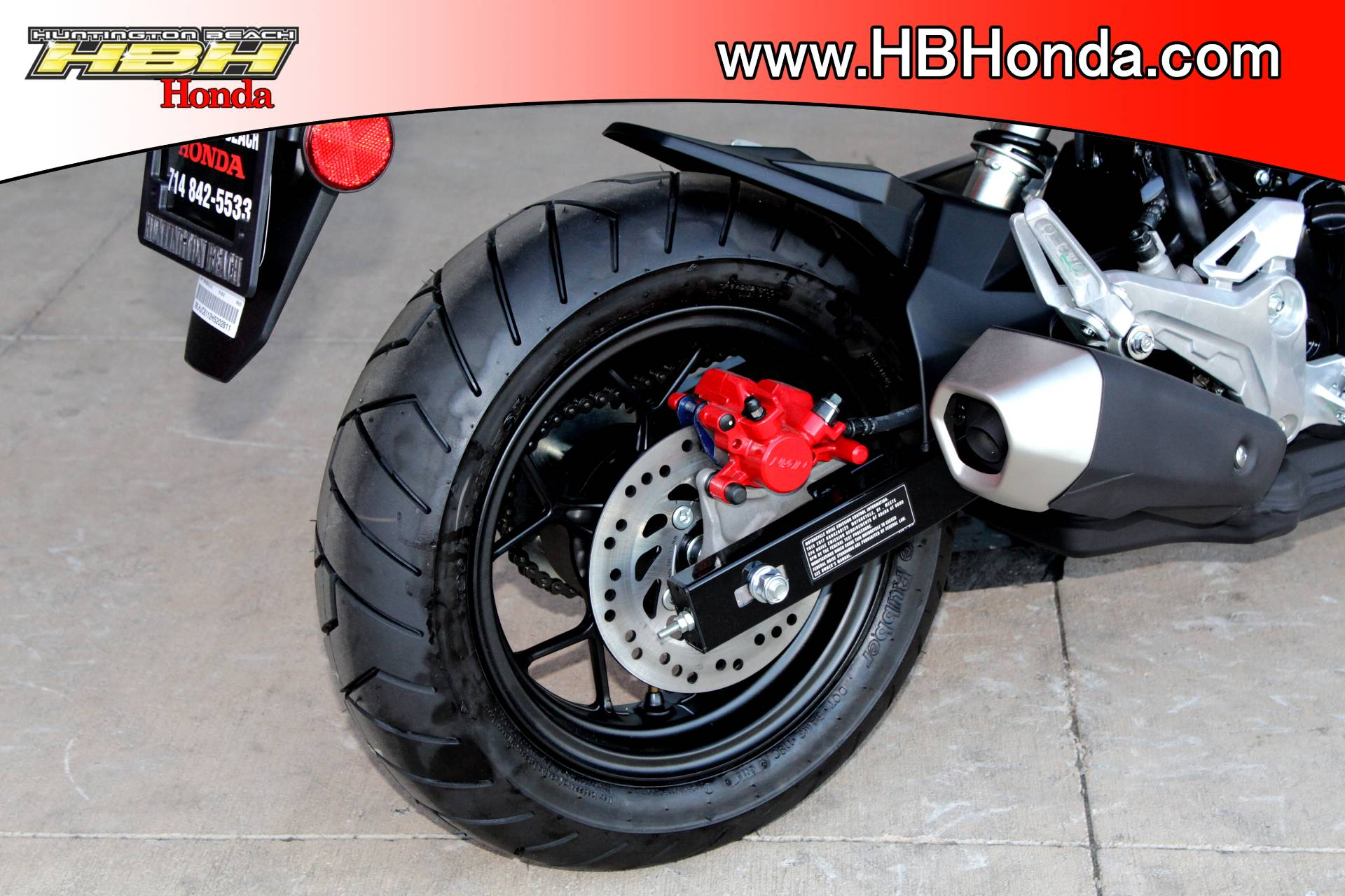2017 Honda Grom in Huntington Beach, California