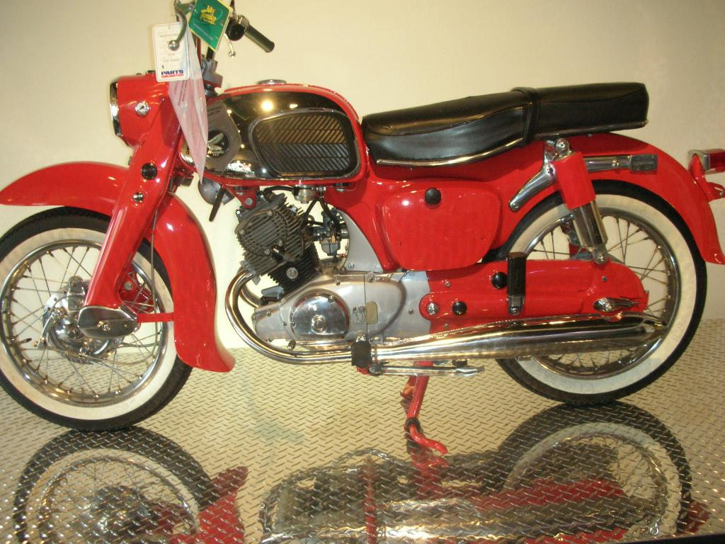 Used 1965 honda ca95 benley motorcycles in canton oh for Honda motor finance payoff phone number