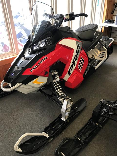 2017 Polaris 800 RUSH PRO-S ES in Trout Creek, New York