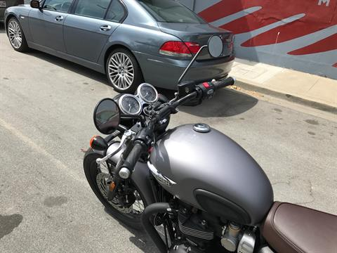 2017 Triumph Bonneville T120 Black in San Jose, California