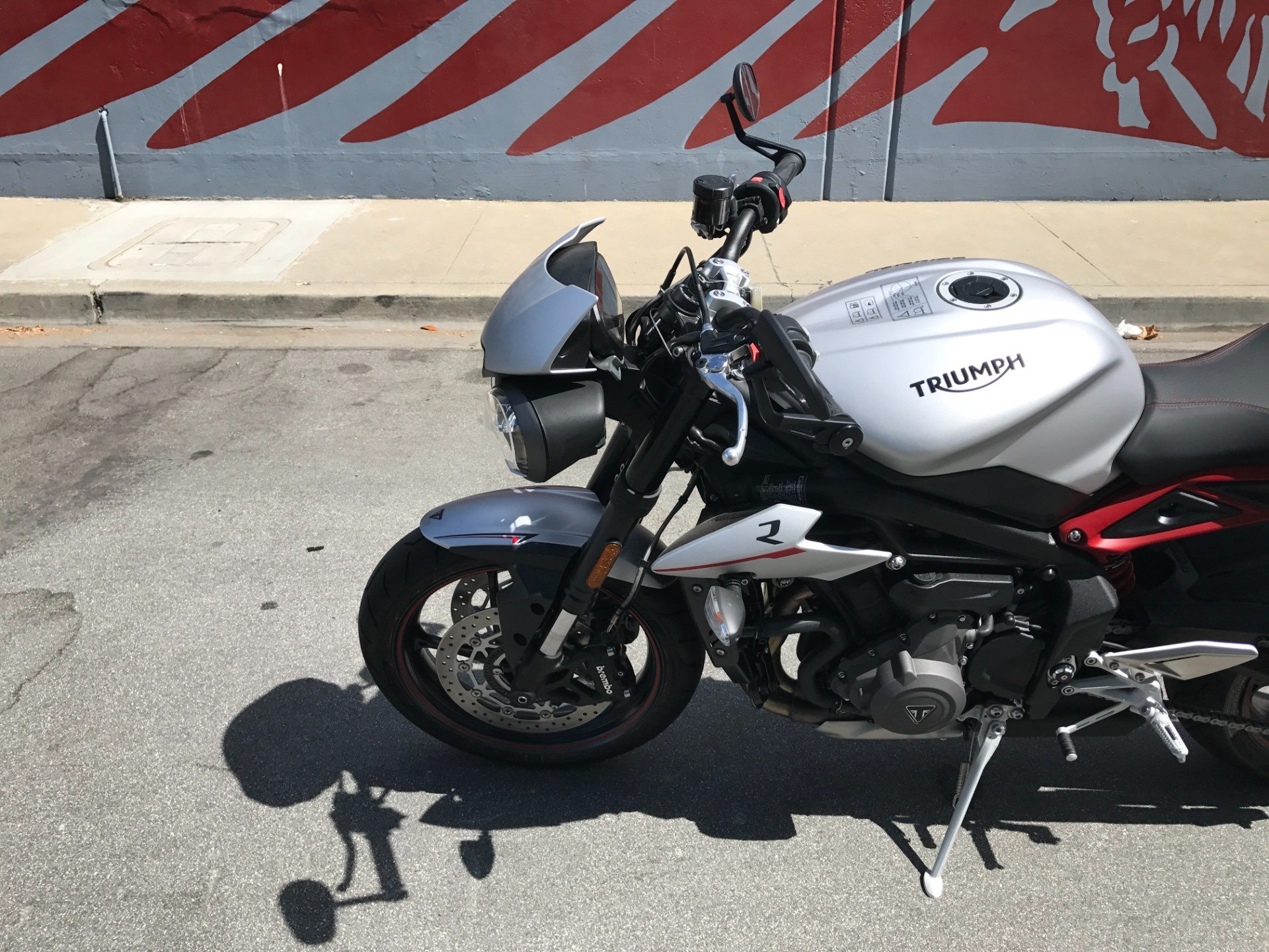 2018 Triumph Street Triple R in San Jose, California