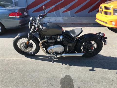 2017 Triumph Bonneville Bobber in San Jose, California