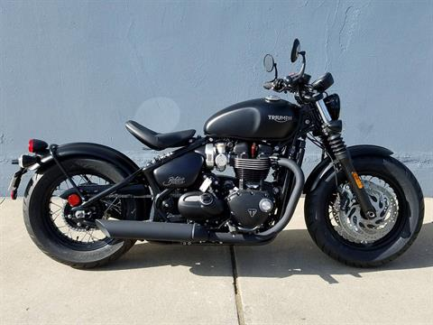 2019 Triumph Bonneville Bobber Black in San Jose, California
