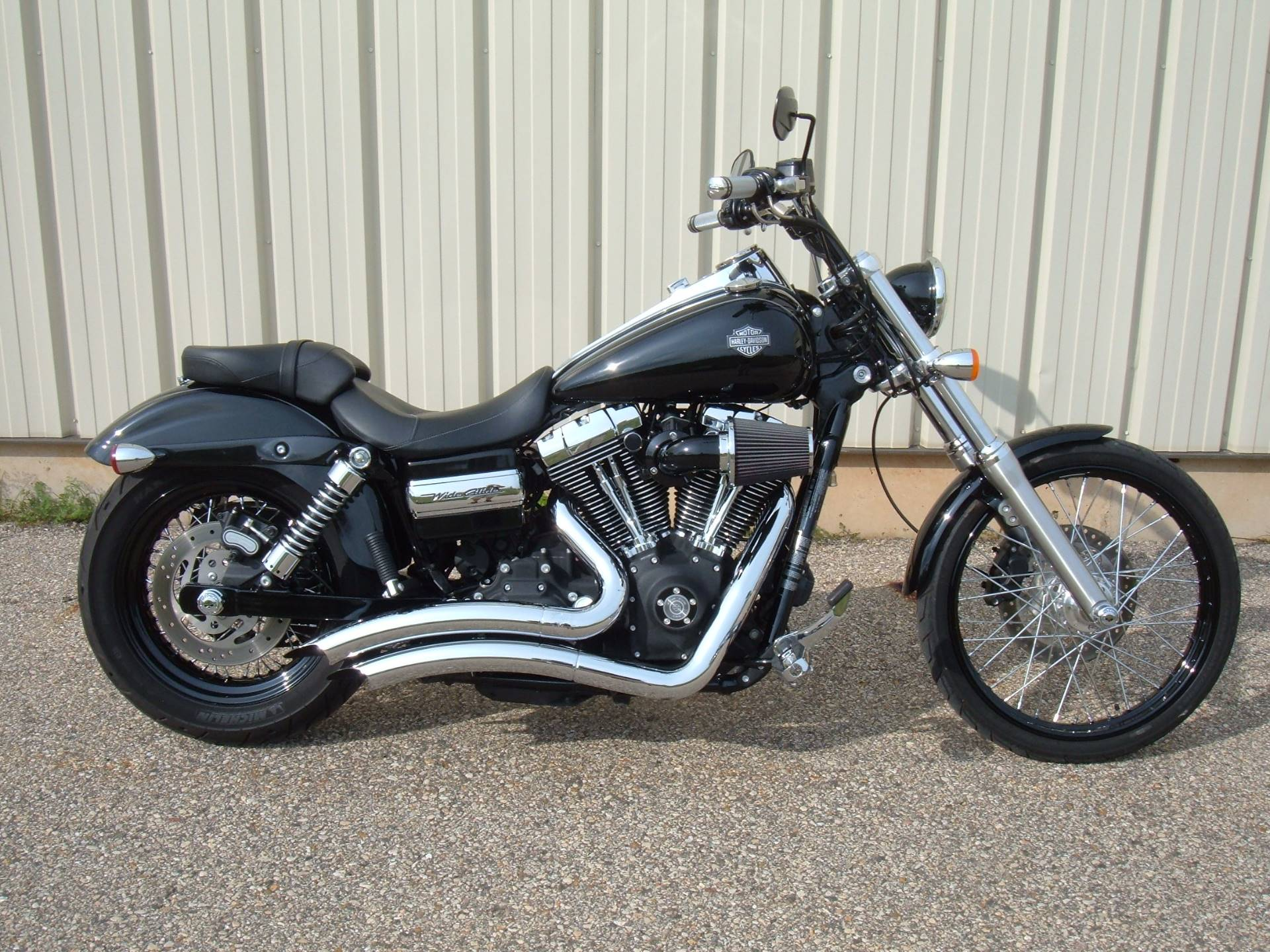 Used 2011 Harley Davidson Dyna 174 Wide Glide 174 Motorcycles In Verona Wi Stock Number N A