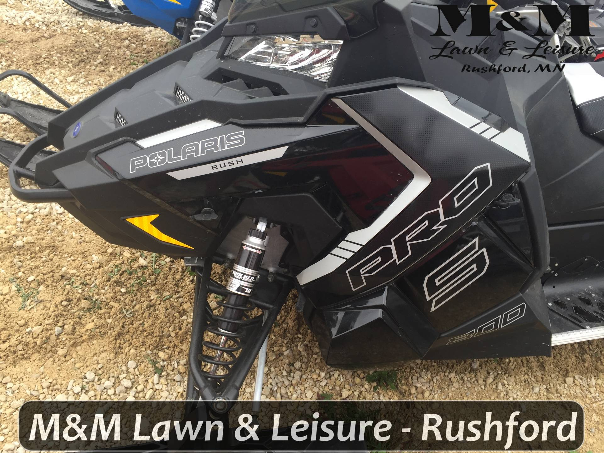 2016 Polaris 800 RUSH PRO-S SnowCheck Select in Rushford, Minnesota