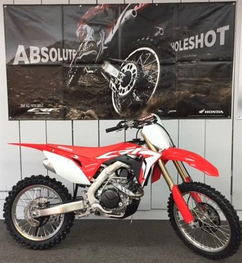 2017 Honda CRF450R in Aurora, Illinois