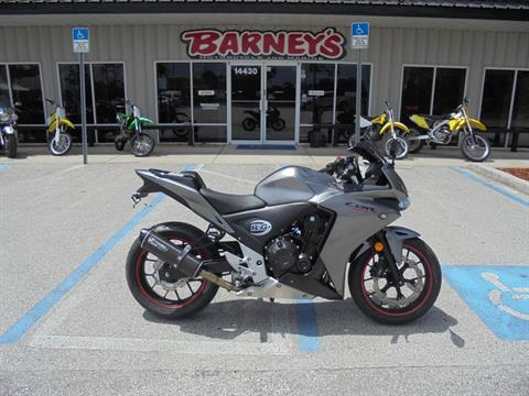 2015 Honda CBR®500R in Brooksville, Florida