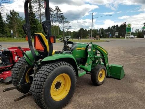 2005 John Deere 3120 Compact Tractor (29.5 hp) in Land O Lakes, Wisconsin