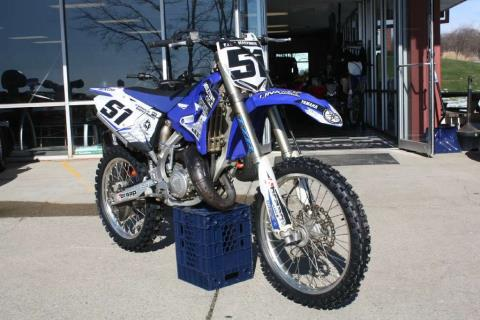 2015 Yamaha YZ125 in Franklin, Ohio