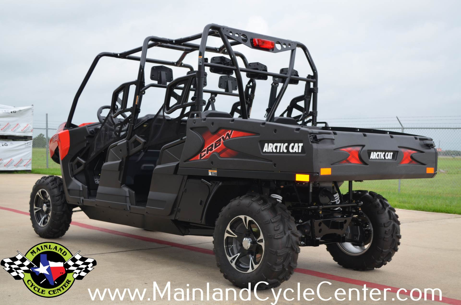 2017 Arctic Cat HDX 700 Crew XT in La Marque, Texas
