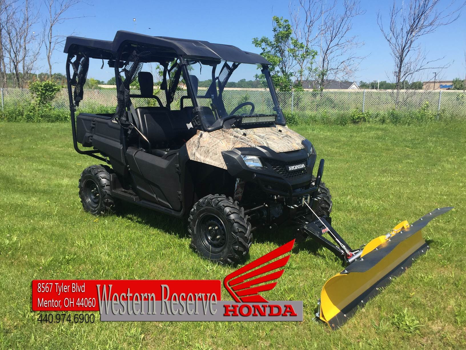 2014 Honda Pioneer™ 700-4 in Mentor, Ohio