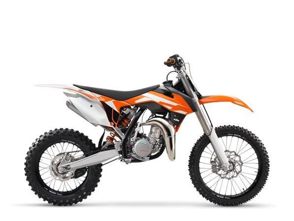2016 KTM 85 SX 17/14 in Kenner, Louisiana