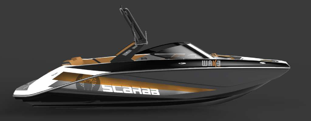 2017 Scarab 255 Wake edition Cognac in Kenner, Louisiana
