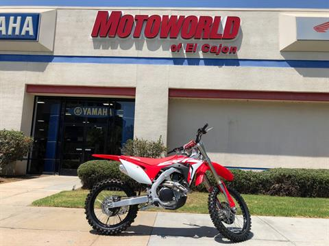 2019 Honda CRF450R in EL Cajon, California