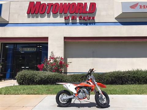 2018 KTM 50 SX Mini in EL Cajon, California