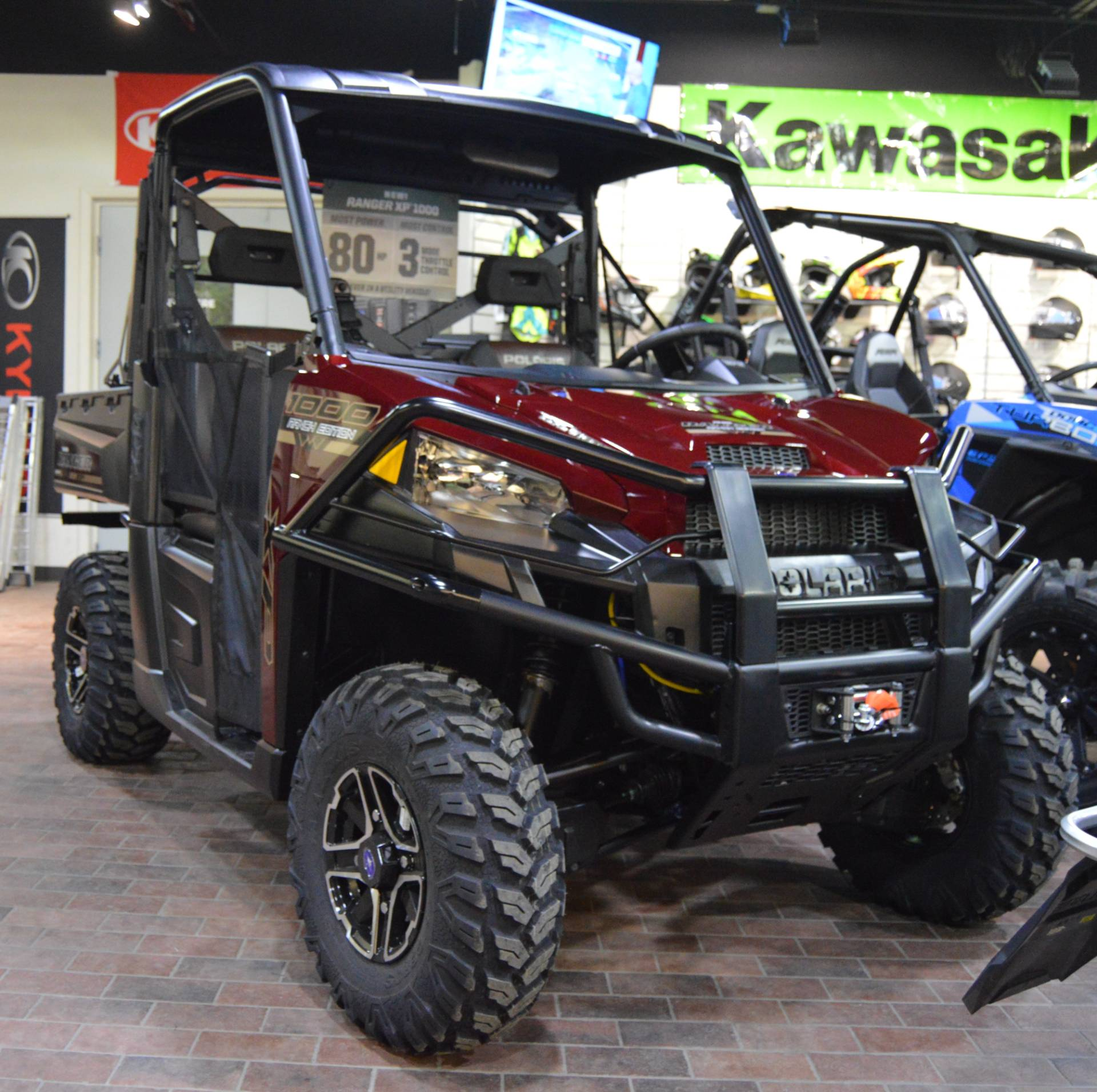 2017 Polaris Ranger XP 1000 EPS Ranch Edition in Traverse City, Michigan