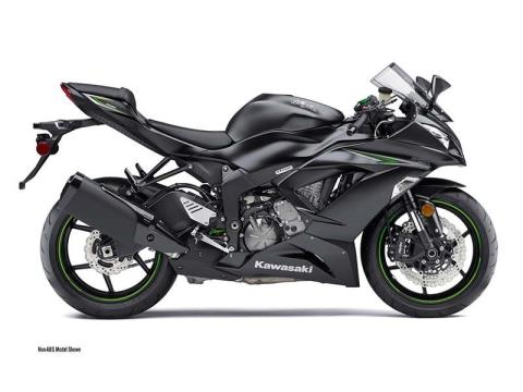 2016 Kawasaki Ninja ZX™-6R in Weirton, West Virginia