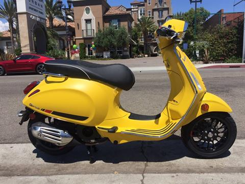 2018 Vespa Sprint S 150 in Marina Del Rey, California