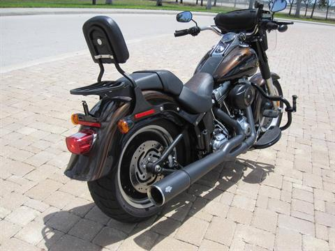 2013 Harley-Davidson Softail® Fat Boy® Lo 110th Anniversary Edition in Fort Myers, Florida