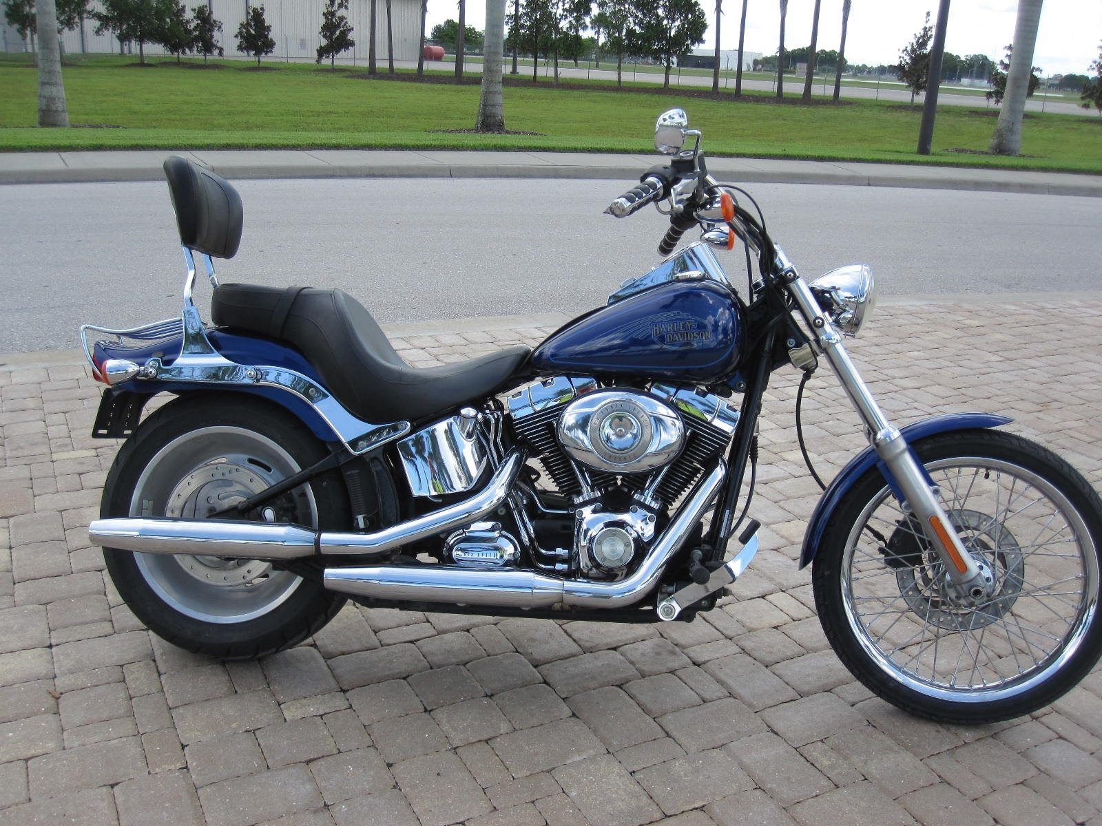 Used 2007 harley davidson softail custom motorcycles in for Harley davidson motor credit