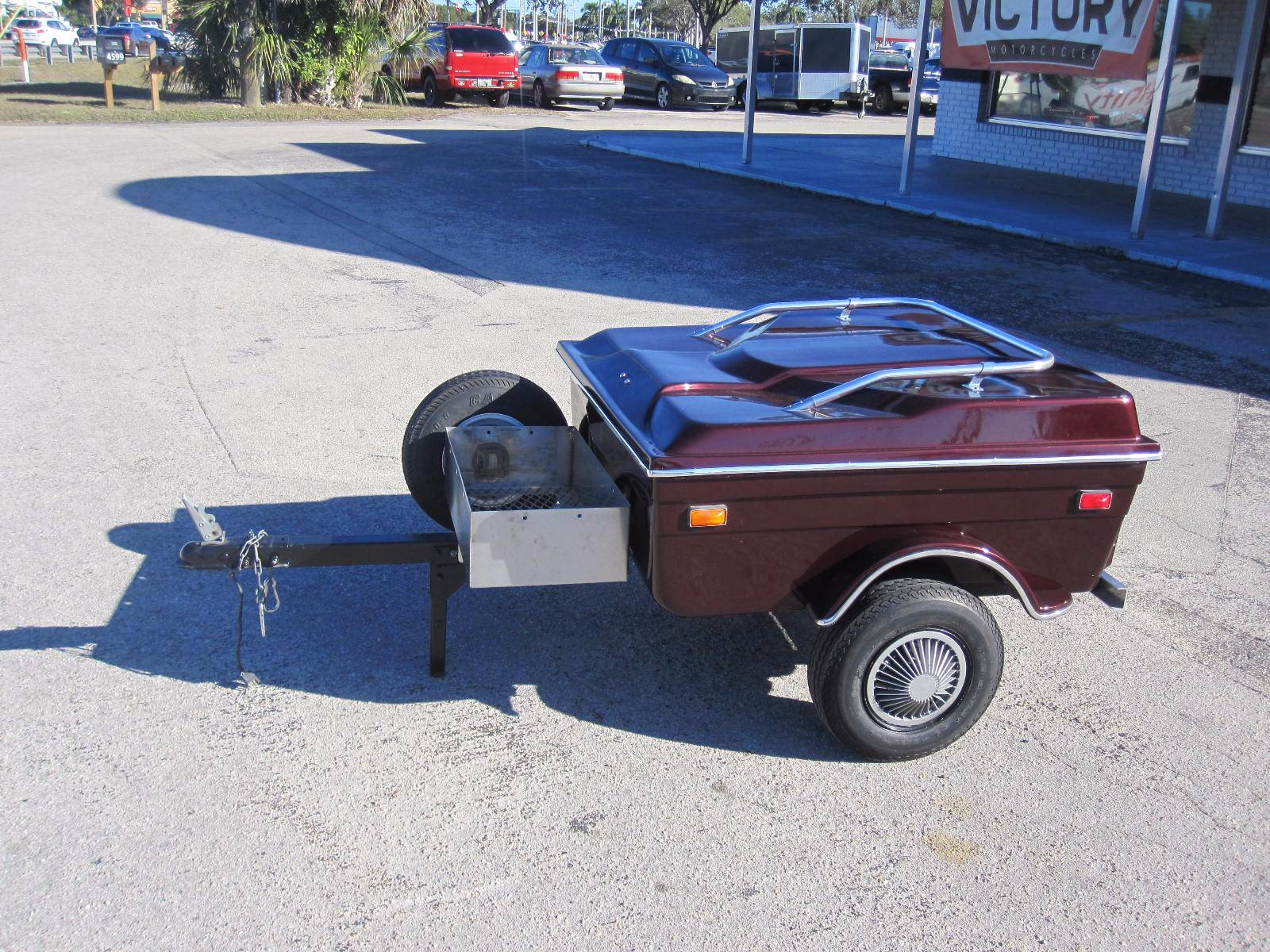 1998 Cycle Mate Motorcycle Trailer in Fort Myers, Florida