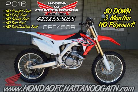 2016 Honda CRF450R in Chattanooga, Tennessee
