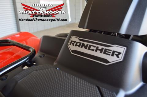 2017 Honda FourTrax Rancher in Chattanooga, Tennessee