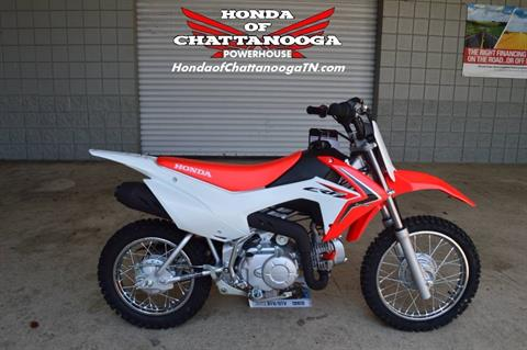 2017 Honda CRF110F in Chattanooga, Tennessee