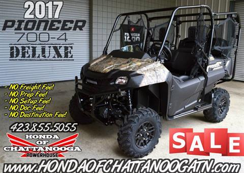 2017 Honda Pioneer 700-4 Deluxe in Chattanooga, Tennessee