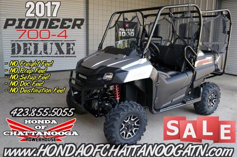 2017 Honda Pioneer 700-4 Deluxe For Sale - Discounted Prices - Side by Side ATV / UTV / SxS / Utility Vehicle