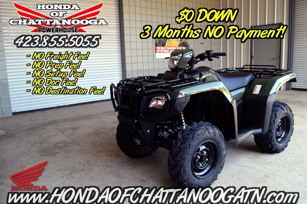 2016 Honda Rubicon 500 DCT For Sale TN - GA - AL - ATV Dealer / PowerSports