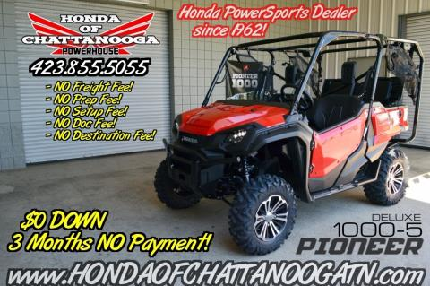 2016 Honda Pioneer 1000-5 Deluxe in Chattanooga, Tennessee