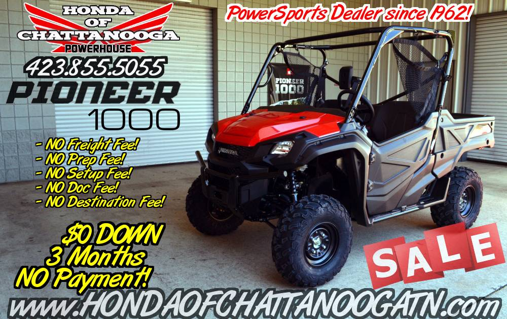 2017 Honda Pioneer 1000 in Chattanooga, Tennessee