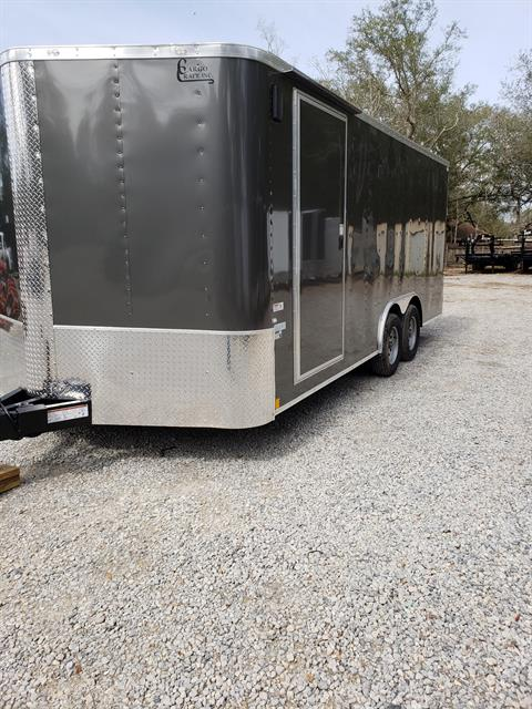 2019 Cargo Craft Trailers 8.5 x 20 Elite Vector Triple Tube Hitch in Lacombe, Louisiana