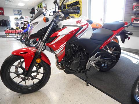2015 Honda CB500F ABS in Columbus, Nebraska