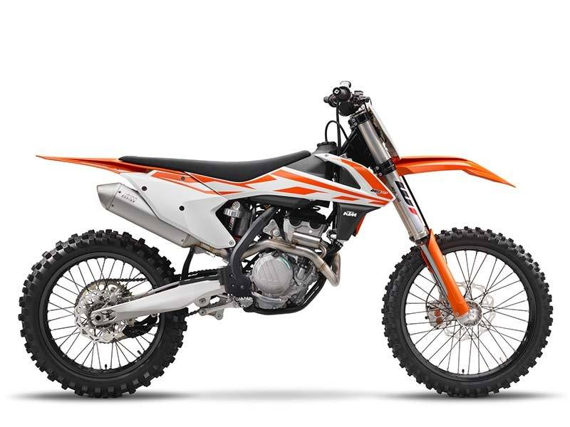 2017 KTM 250 SX-F in Orange, California