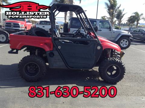 2008 Yamaha Rhino 700 in Hollister, California