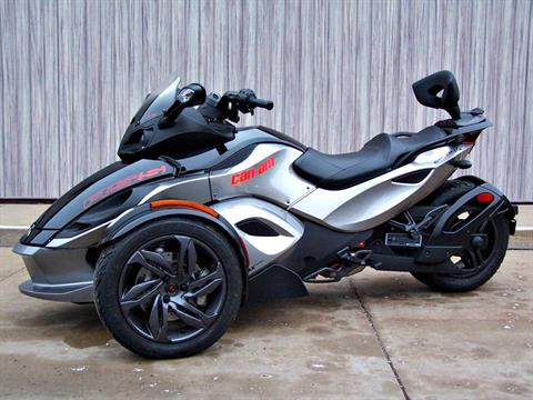 2013 Can-Am Spyder® RS-S SE5 in Erie, Pennsylvania