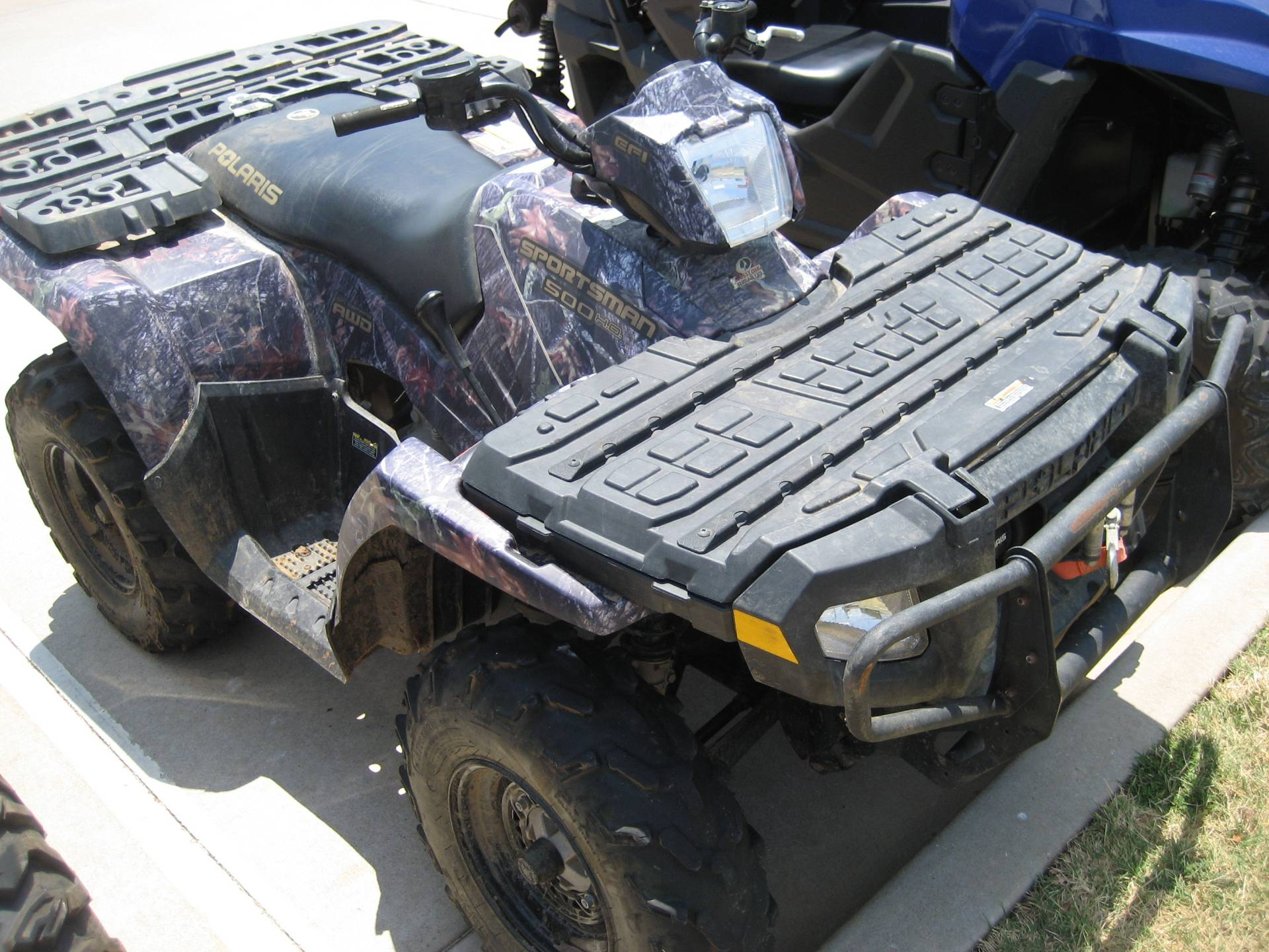 2007 Polaris Sportsman 500 EFI in Shawnee, Oklahoma