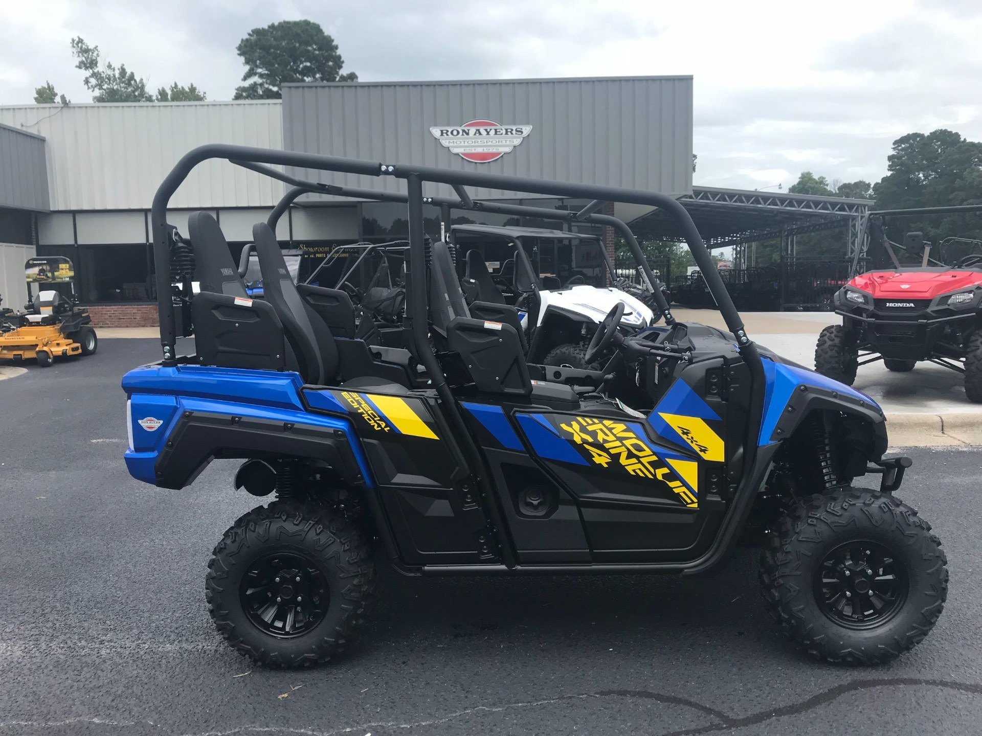 3123f8e742c New 2019 Yamaha Wolverine X4 SE Utility Vehicles in Greenville