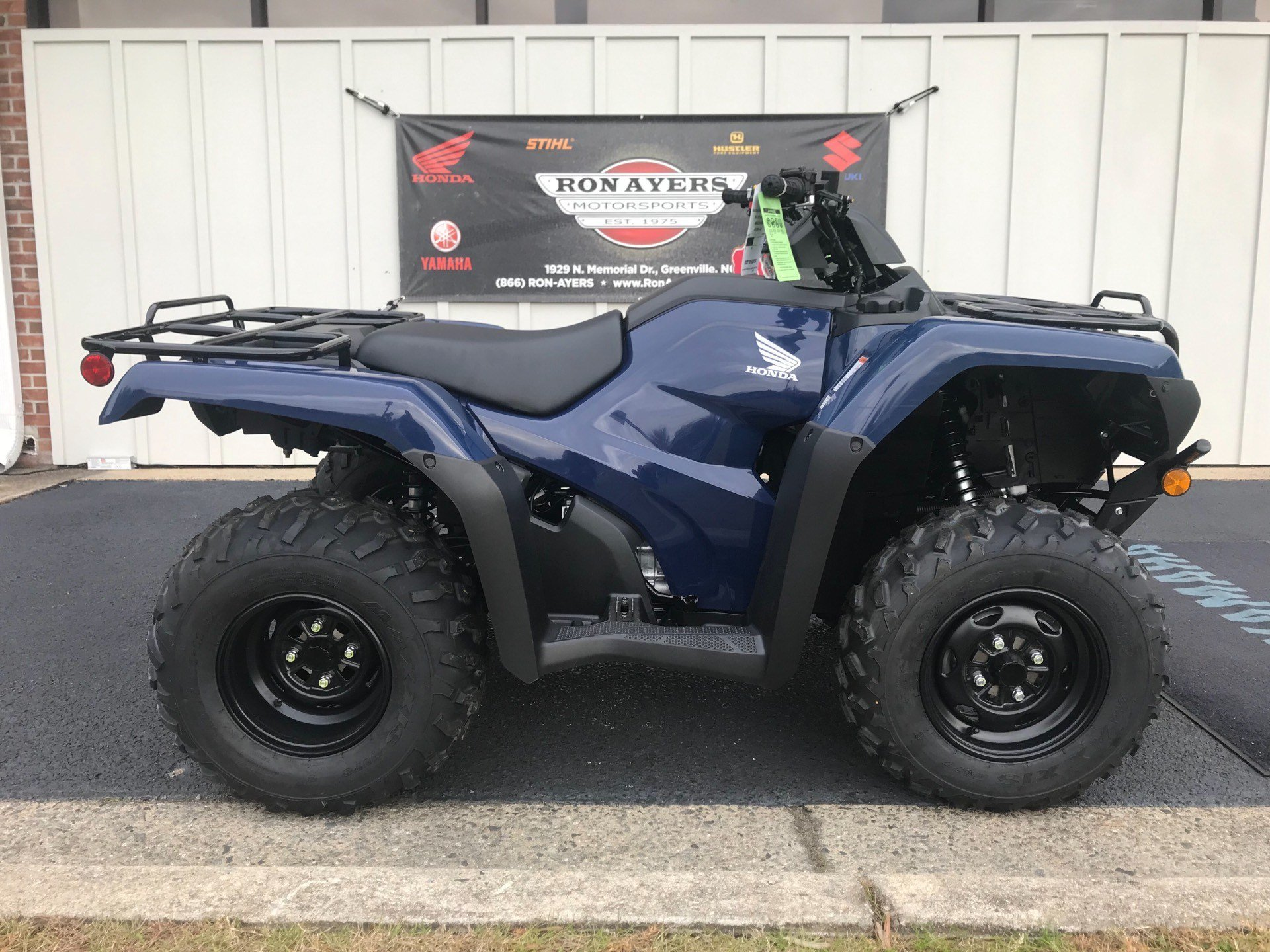 New 2019 Honda FourTrax Rancher 4x4 ATVs in Greenville, NC