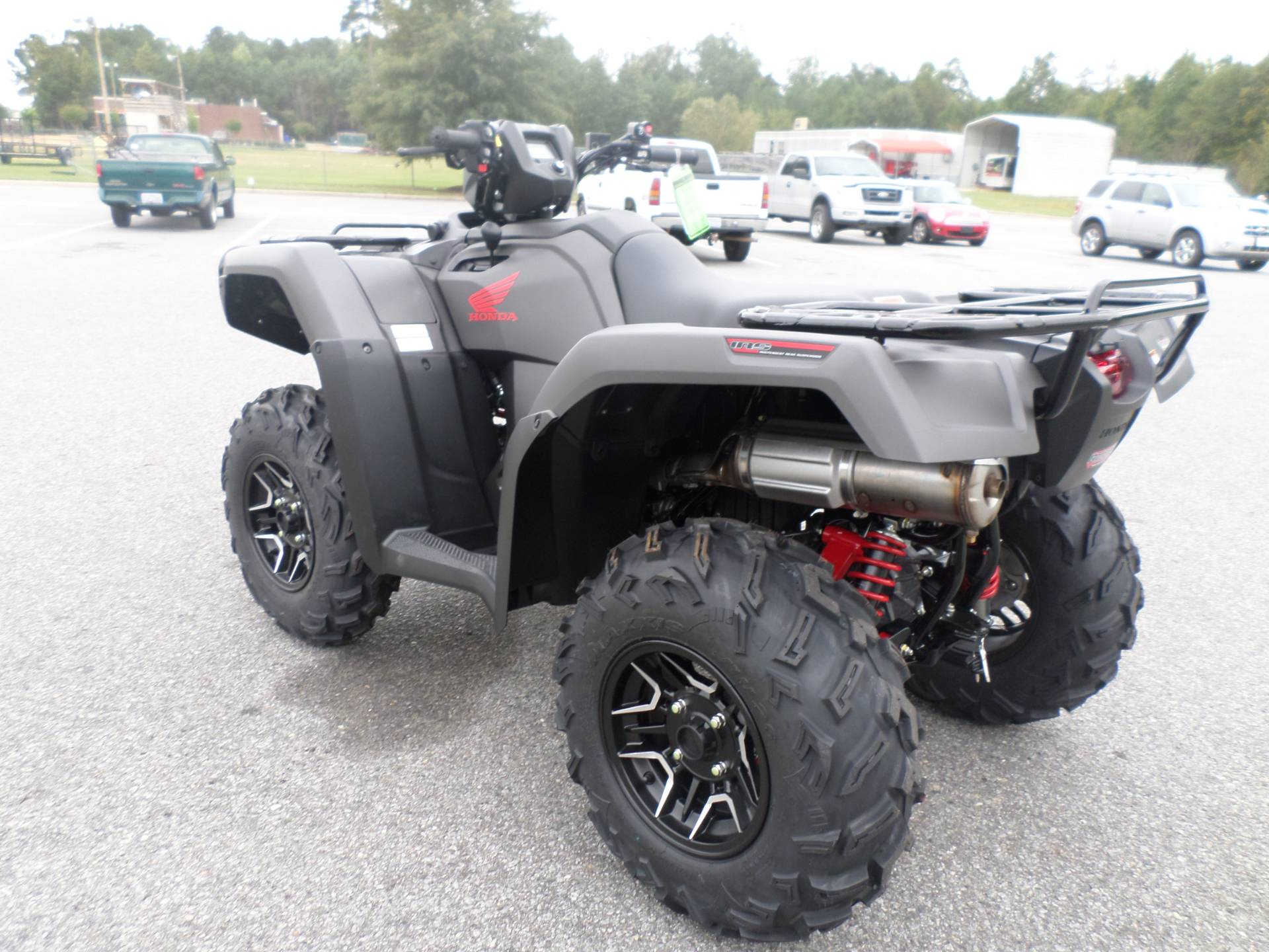 2017 Honda FourTrax Foreman Rubicon 4x4 DCT EPS Deluxe in Greenville, North Carolina